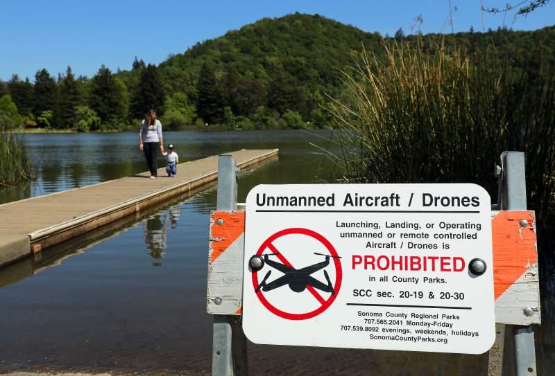 droni in islanda